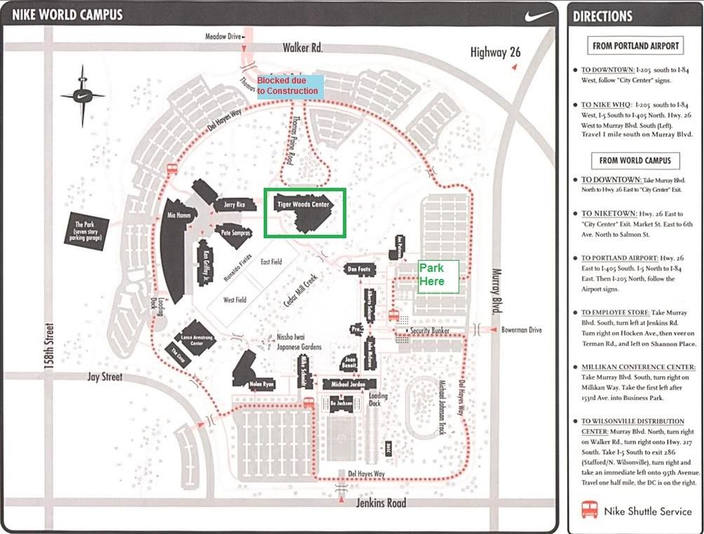 Nike Campus Map Kingjaap